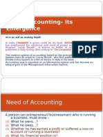 Introduction of Accounting-