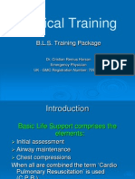 Dr. Cristian BLS - Medical Training. First Aid