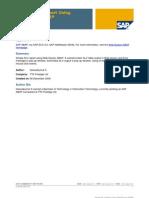 Simple ALV Report Using Web Dynpro ABAP