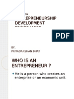 Entrepreneurship Development Programm
