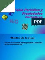 Tabla periodica y propiedades periodicas 1º