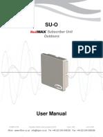 Redline Suo User Manual