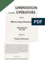 Measuring Instruments, Unit 1