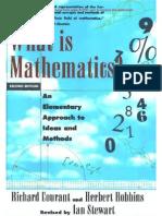 Courant R Robbins H Stewart I What is Mathematics 2ed Oxford 1996