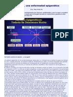 El cáncer, una enfermedad epigenética.doc