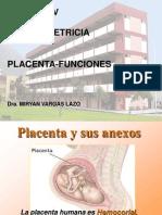 Placenta Funciones