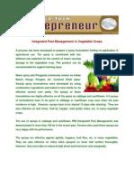 IPM in Vegetable Crops
