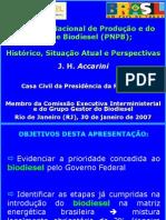 Apresentação Presidencia da Republica PNPB