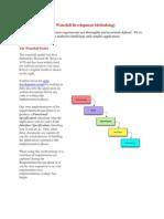 The Waterfall Development Methodology