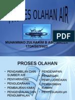 Proses Olahan Air