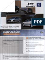 Manual Usuario Peugeot 206+ (207 Compact Para Mercosur)
