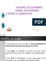Two Greek Philosophers Plato & Aristotle
