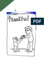 Values of Love - I am Thankful