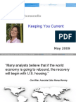 Keeping You Current - May 2009