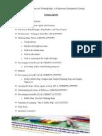 agenda for website