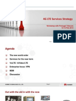 4G LTE Service Strategy-workshop Materials for PT