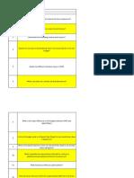 UMTS Questinaire