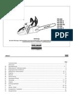 Dolmar PS420c Reparaturanleitung