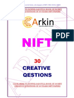 NIFT Creative Part Papers