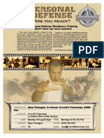 PDR Flyer Aug 5 Week Course