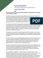 Fallos de La Corte Suprema de Justicia Argentina Zabalia