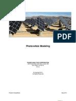PV Modeling