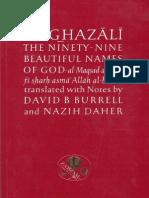 Al Ghazali TheNinety NineBeautifulNamesOfGod