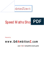 Speed Maths Shortcuts - Gr8AmbitionZ[1]