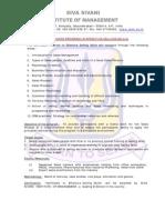 Certificate Program in Effective Selling Skills