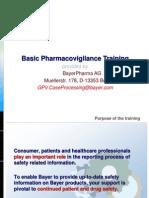 Basic Pharmacovigilance Training Slides