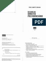 FÁBIO ZAMBITTE - Resumo de Direito Previdenciário (2012)