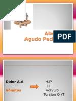 Abdomen Agudo Pediátrico
