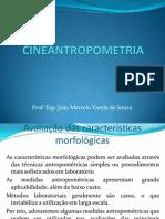 Av. características morfológicas