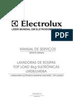 Manual de Serviço Electrolux LM08