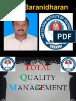 TQM - KANO MODEL - FINAL YEAR ECE - SRI SAIRAM INSTITUTE OF TECHNOLOGY - DR.K.BARANIDHARAN