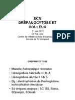 ECN_2013 Drépano - douleur