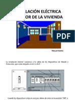 INSTALACIÓN ELÉCTRICA INTERIOR DE LA VIVIENDA