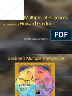 Gardner Intelligence PowerPoint- Team E