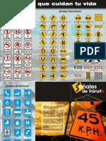 Brochure, Señales de transito