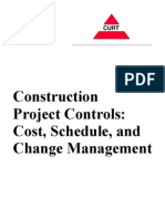 Construction Project Controls_ Cost, Schedule and Change Management
