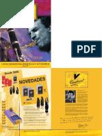 Catalogue Vandoren 2010 Espagnol