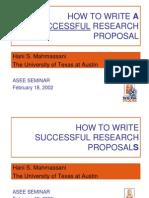 ASEE Proposal Mahmassani