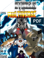 Sentinels of the Multiverse Enhanced Edition Rulebook