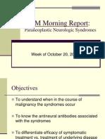 Paraneoplastic Neurologic Syndromes R1