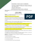 Ley de Planeacion Para El Estado de Jalisco y Sus Municipios