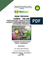 Fertilizacion y Manejo Integrado de Plagas y Enfermedades