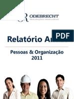 Relatório Anual 2011 - Pessoas e Organização
