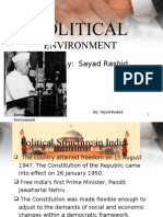 Political Environment Org