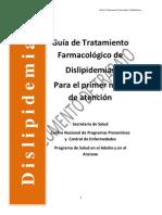 Guia TX Farmacologico Dislipidemias
