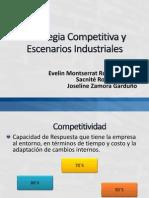 Estrategia Competitiva y Escenarios Industriales